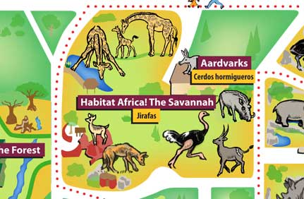 Chicago Zoological Society Habitat Africa The Savannah