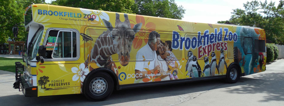 Brookfield Zoo Express Bus