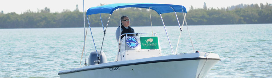 Dr. Randy Wells of Chicago Zoological Society's Sarasota Dolphin Research Program