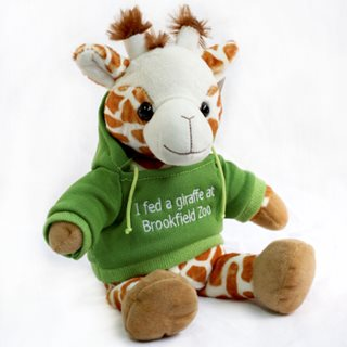 Giraffe Plush Green