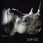 Rhino Tee - Be My Voice - Size M